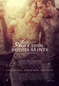 Ain't Them Bodies Saints כרזת הסרט