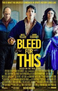 Bleed for This כרזת הסרט