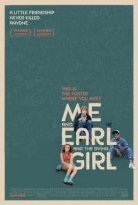 Me and Earl and the Dying Girl כרזת הסרט