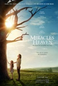 Miracles from Heaven כרזת הסרט