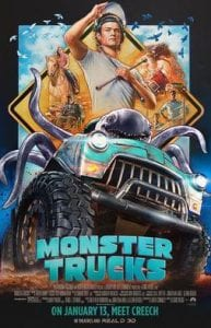 Monster Trucks כרזת הסרט