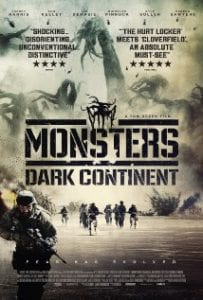 Monsters Dark Continent כרזת הסרט