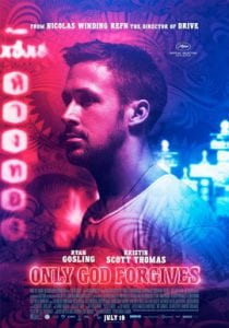Only God Forgives כרזת הסרט