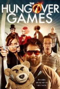 The Hungover Games כרזת הסרט