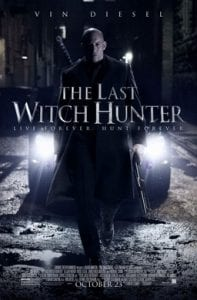 The Last Witch Hunter כרזת הסרט
