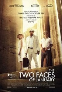 The Two Faces of January כרזת הסרט