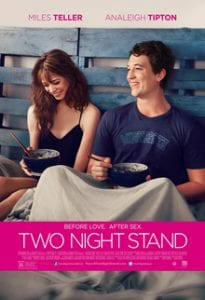 Two Night Stand כרזת הסרט
