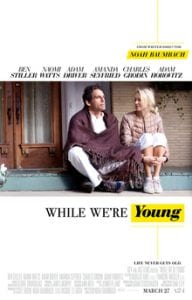 While We're Young כרזת הסרט